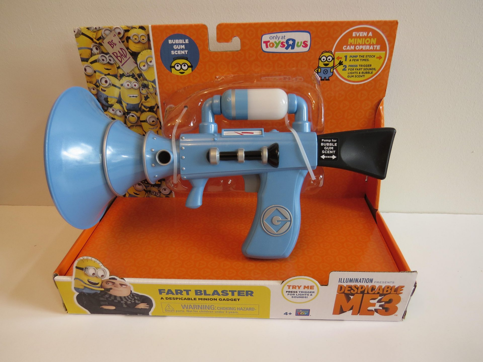 Despicable Me Fart Blaster Guns in Stock