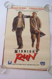 midnight run video store poster