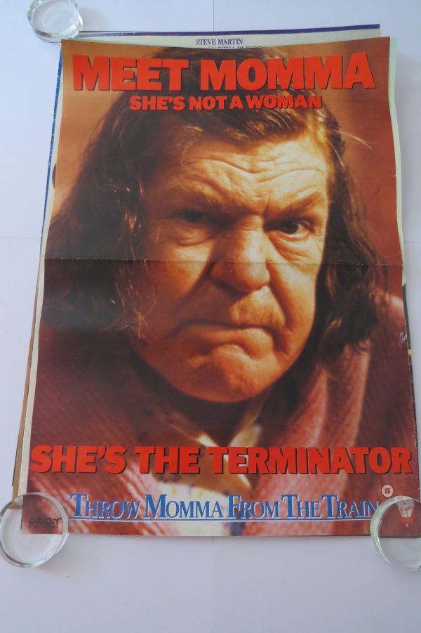 Throw Momma From The TrainMovie Poster
