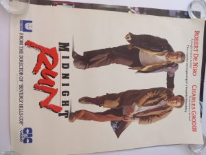 Midnight Run Movie Poster in excellent condition