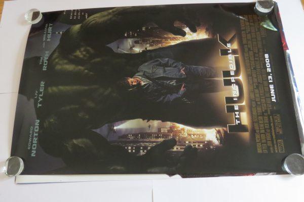The Incedible Hulk Original Movie Poster