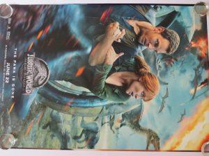 Jurassic World Fallen Kingdom original Movie Poster