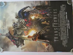 Transformers the Dark of the Moon Original Movie Poster