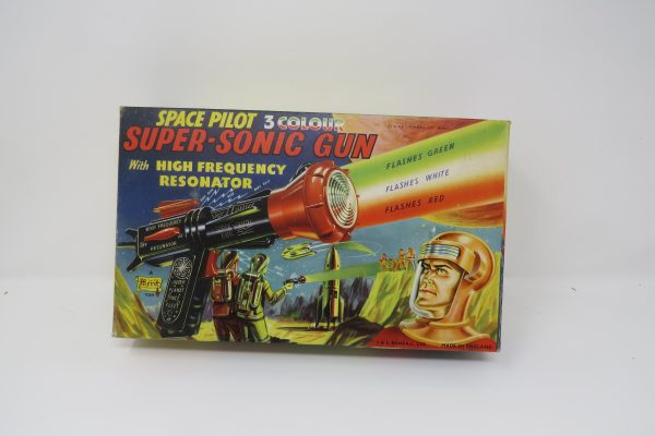 Space Pilot Super-Sonic Gun