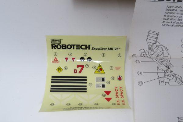 Robotech Excaliber MK-VI