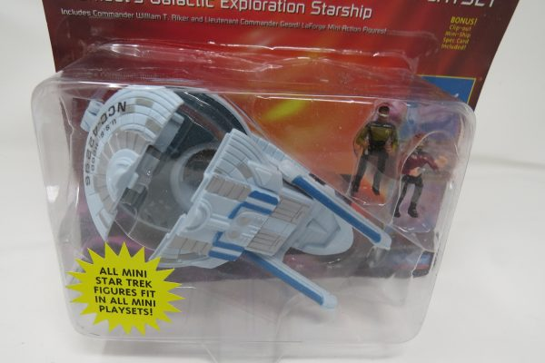 Star Trek 6137 Excelsior Class Starship Mini Playset