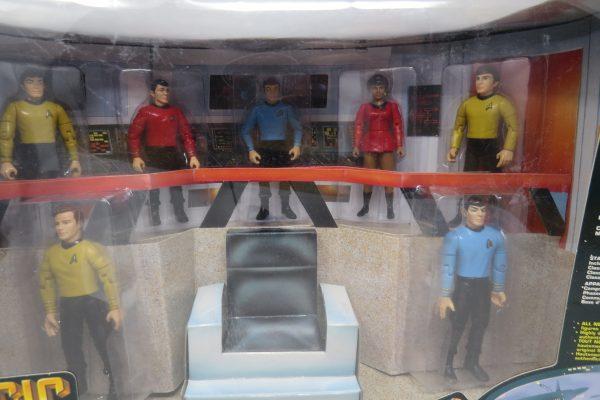 Classic Star Trek Bridge Action Figure Set