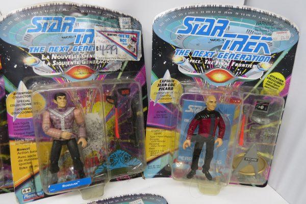 Playmates Star Trek Six Action Figure Set