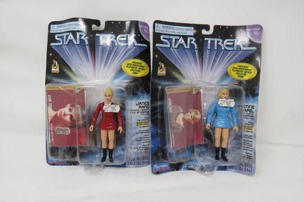 Star Trek Playmates 30th Anniversary set Janice Rand and Christine Chappel