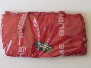 Supreme Cordura Duffle Bag | small red | SS18