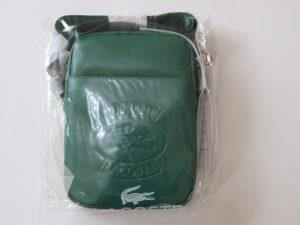 SUPREME x LACOSTE Leather Shoulder Bag | Green | ss18