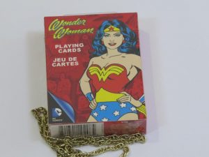 Themed Playing Cards | Wonder Woman Comic variant