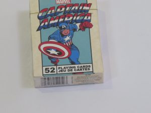 Themed Playing Cards | captain america