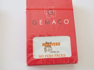 Poker Playing Cards   Hooters Casino   orange   Renton WA