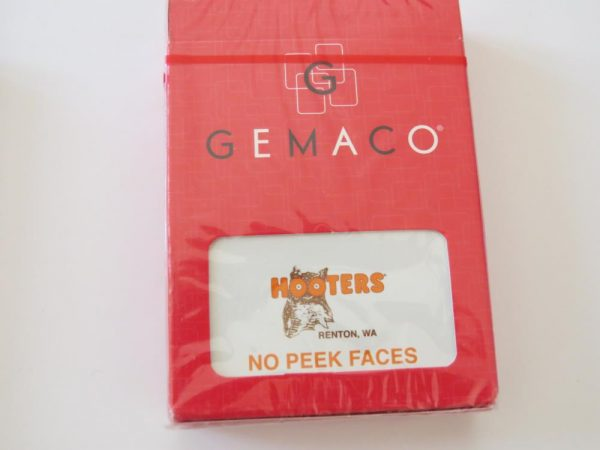 Poker Playing Cards | Hooters Casino | orange | Renton WA