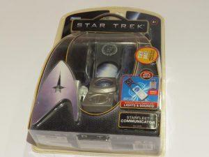 STAR TREK | STARFLEET COMMUNICATOR PROP REPLICA 2009 | PLAYMATES