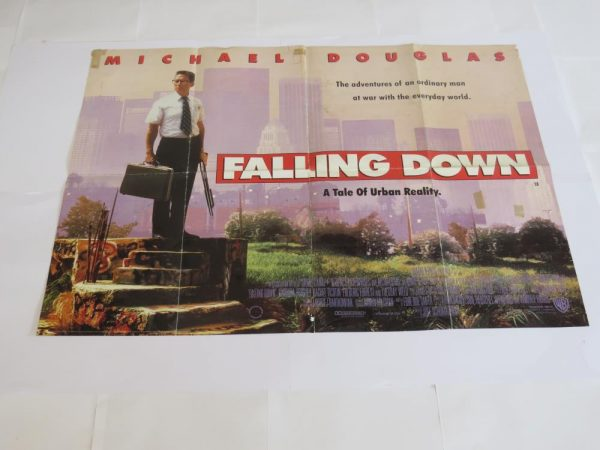 Falling Down   UK Quad   Original Movie Poster