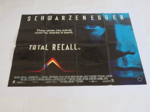 Total Recall | UK Quad | Original Movie Poster