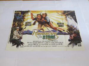 Romancing The Stone | UK Quad | Original Movie Poster