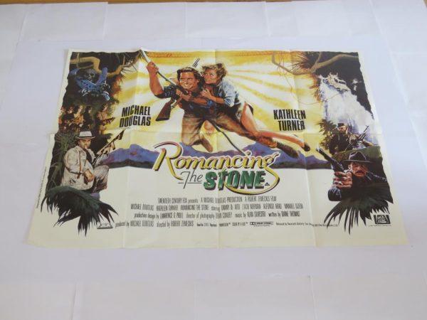 Romancing The Stone   UK Quad   Original Movie Poster