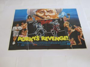 Porkys Revenge | UK Quad | Original Movie Poster