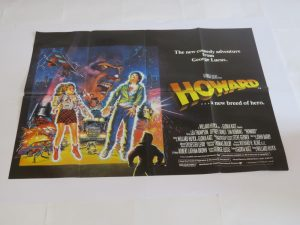 HOWARD THE DUCK | UK Quad | Original Movie Poster