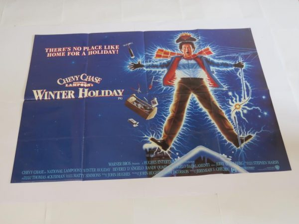 National Lampoons Christmas Vacation | UK Quad | Original Movie Poster