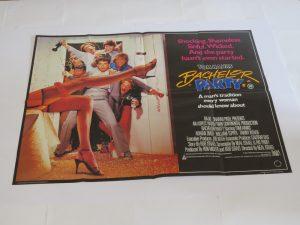 Bachelor Party | UK Quad | Original Movie Poster