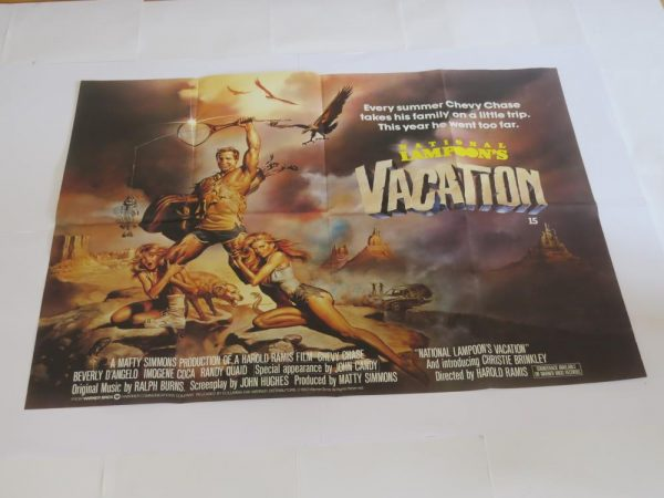 The National Lampoons Vacation | UK Quad | Original Movie Poster
