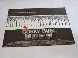 GORKY PARK | UK Quad | Original Movie Poster