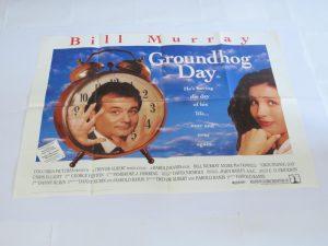 GROUNDHOG DAY | UK Quad | Original Movie Poster
