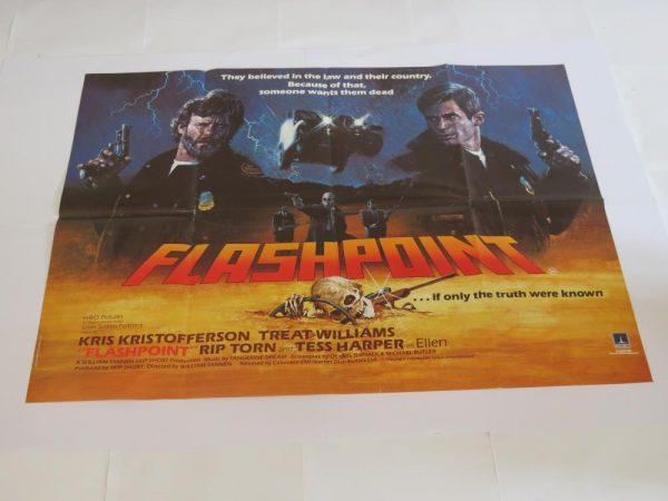 FLASHPOINT | UK Quad | Original Movie Poster