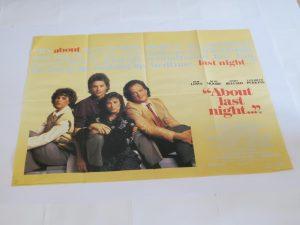 ABOUT LAST NIGHT | UK Quad | Original Movie Poster