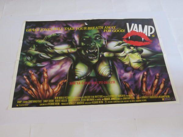 VAMP | UK Quad | Original Movie Poster