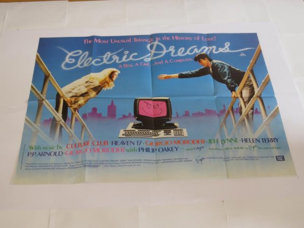 ELECTRIC DREAMS | UK Quad | Original Movie Poster