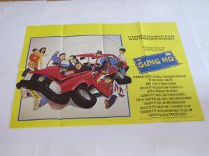 GUNG HO | UK Quad | Original Movie Poster