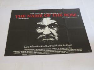 THE NAME OF THE ROSE | UK Quad | Original Movie Poster