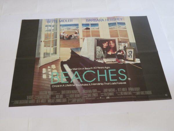 Beaches | UK Quad | Original Movie Poster
