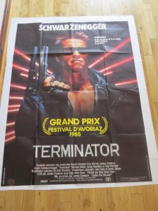TERMINATOR | OVERSIZE ONE SHEET | ORIGINAL MOVIE POSTER