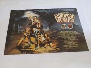 The National Lampoons European Vacation | UK Quad | Original Movie Poster