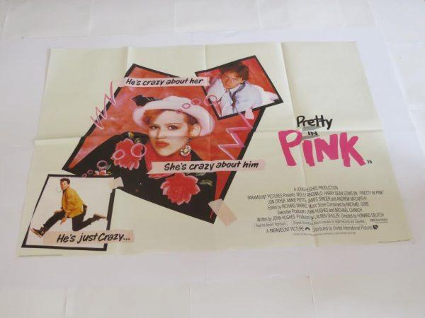 PRETTY IN PINK | UK Quad | Original Movie Poster