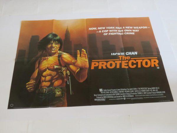 The Protector | UK Quad | Original Movie Poster