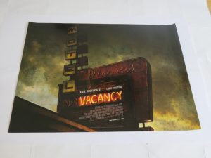 VACANCY | UK Quad | Original Movie Poster