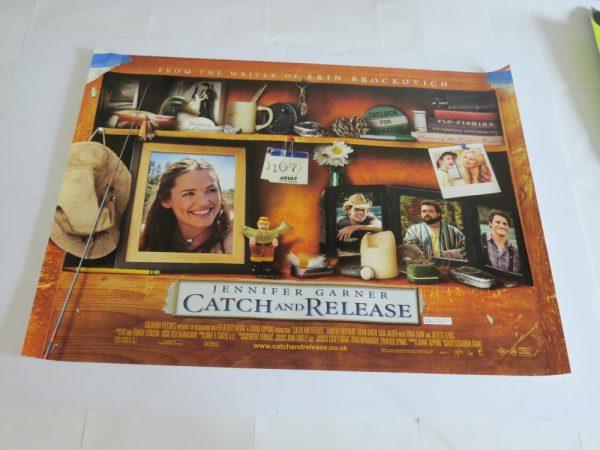 CATCH AND RELEASE | UK Quad | Original Movie Poster
