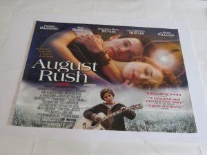 AUGUST RUSH | UK Quad | Original Movie Poster
