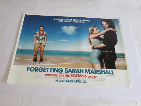 FORGETTING SARAH MARSHALL | UK Quad | Original Movie Poster