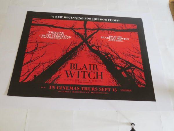 BLAIR WITCH PROJECT | UK Quad | Original Movie Poster