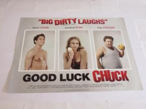 GOOD LUCK CHUCK | UK Quad | Original Movie Poster