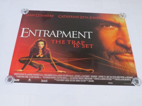 ENTRAPMENT | UK Quad | Original Movie Poster
