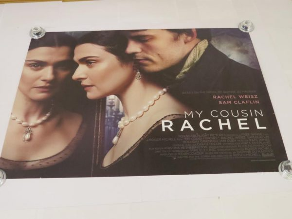 MY COUSIN RACHEL | UK Quad | Original Movie Poster